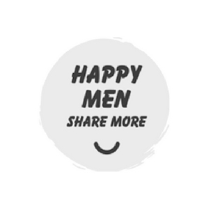 logo happy men