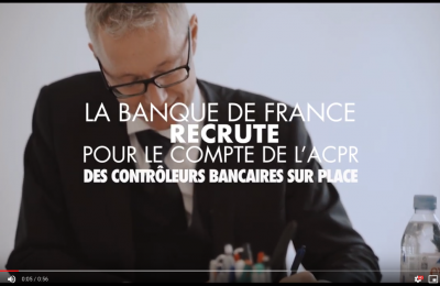 Capsule de recrutement Banque de France